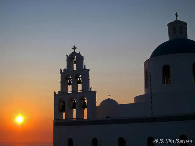 Sunset in Oia 2