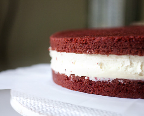 Red Velvet Cheesecake - Un-Iced | by Elissa @ 17 and Baking