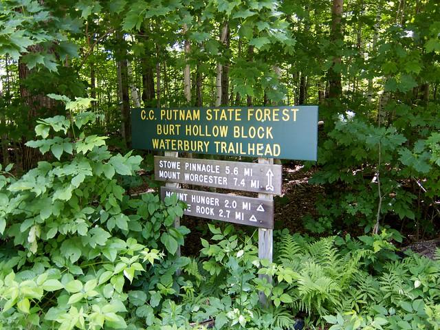 0:00:00 (0%): sign vermont hiking greenmountains mthunger waterburytrail mtwhiterock