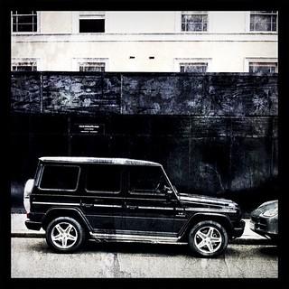 Black on #black  — V8 Gelandewagen