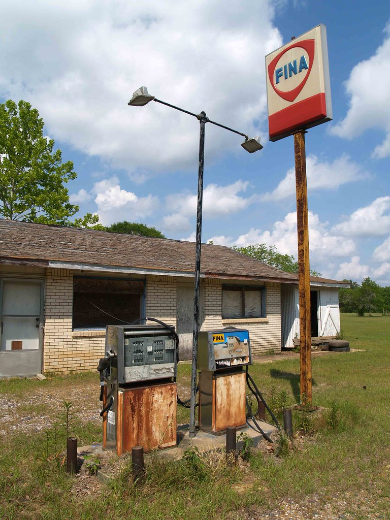 Old Fina Station  Western Louisiana | I think this is somewh… | Flickr