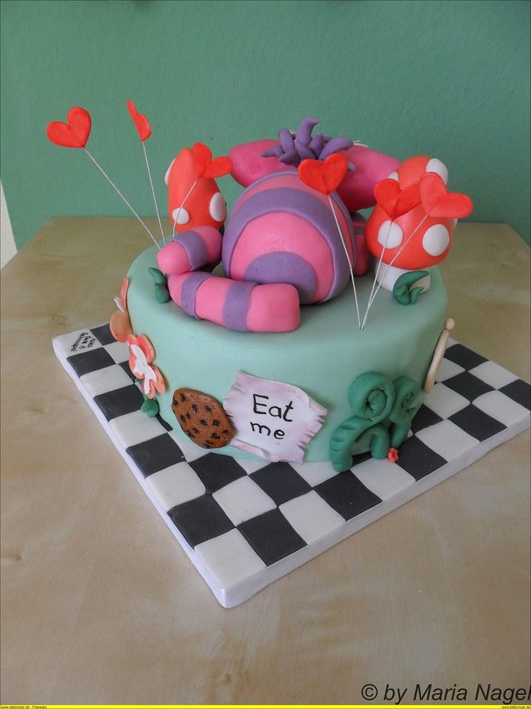 Alice im Wunderland Torte (Alice in Wonderland Cake) | Flickr