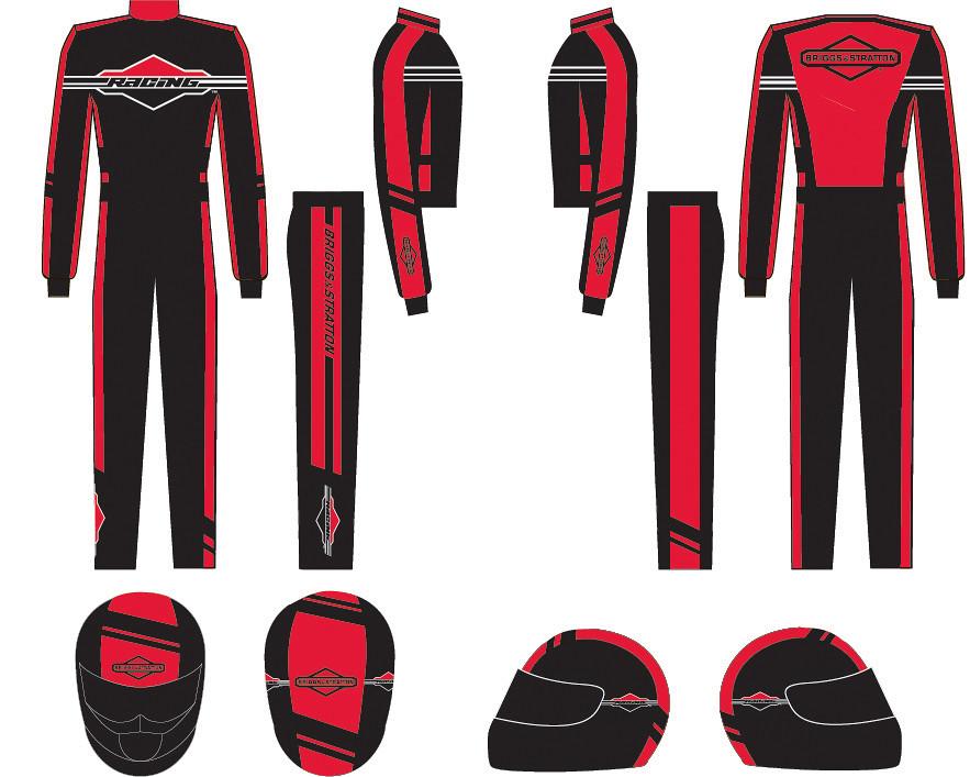 Briggs & Stratton Racing Apparel | www designcue com | Cue | Flickr