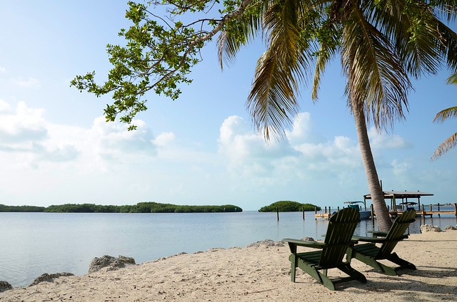 A peaceful view from Key Largo, Florida