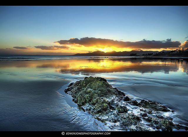 Golden Sands Sunset Lanzarote