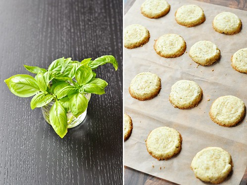 Basil Shortbread Cookies | by GF in the City