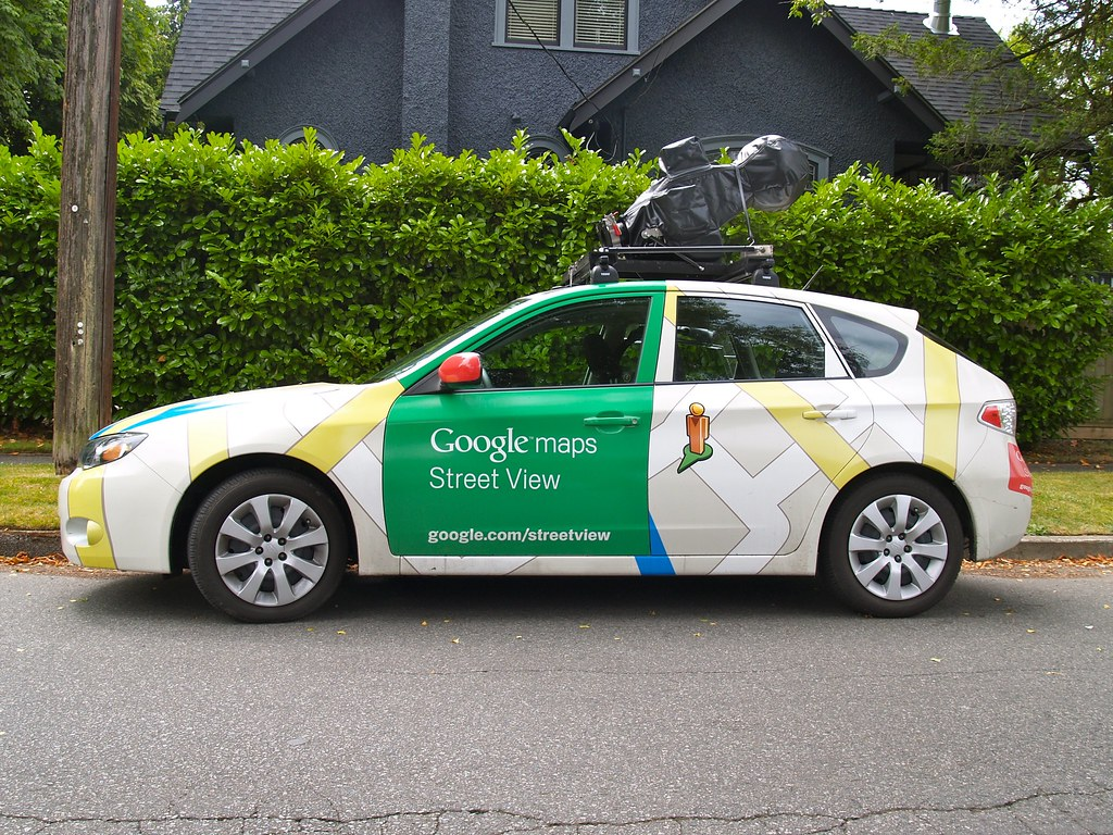 Google Maps Street View Car | The