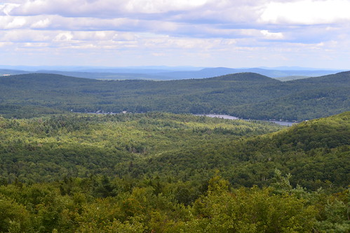summer mountain lake forest view newhampshire nh hills highland mtn pitcher distant stoddard