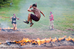 Warrior Dash Northeast 2011 - Windham, NY - 2011, Aug - 29.jpg by sebastien.barre