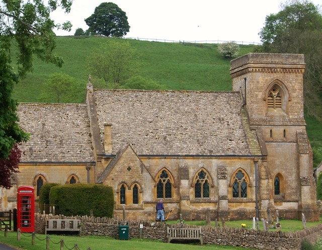 Snowshill, a Village in the Cotswolds