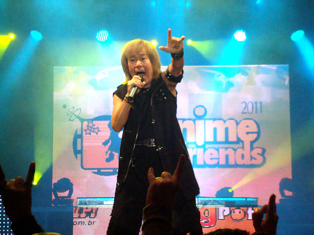 Akira Kushida (串田アキラ) live @ Anime Friends 2011 - São Paulo, Brasil