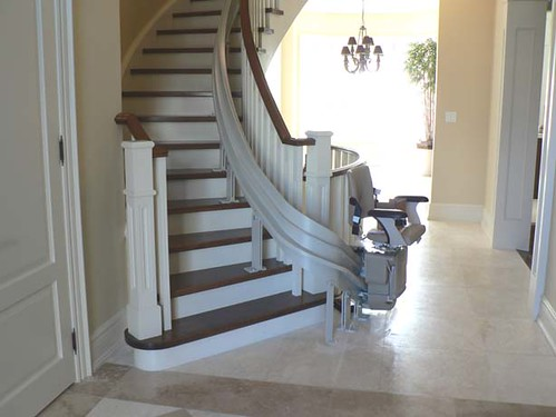 Bruno-Curved Stairlift | by ARC-AHE