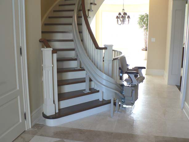 Bruno-Curved Stairlift