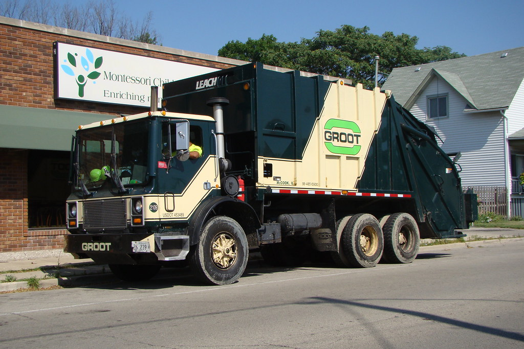 Groot Garbage truck   Terry Spirek   Flickr