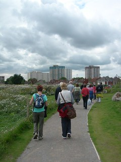 Walking through Netham Park