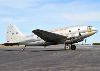 N1822M Curtiss C-46F Commando Everts Air Fuel