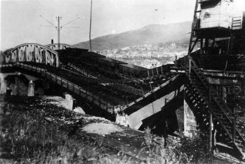 Den sprengte jernbanen i Narvik