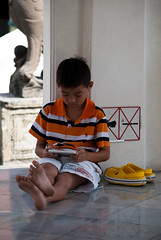 Little Boy at the Grand Palace
