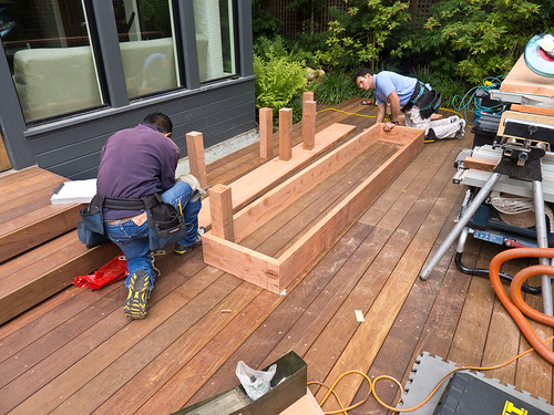 Day 13: Planter box construction I | by docrpm