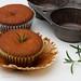 Orange Rosemary Cupcakes