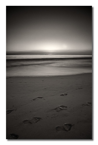 seascape beach by sepia long exposure passers nd110