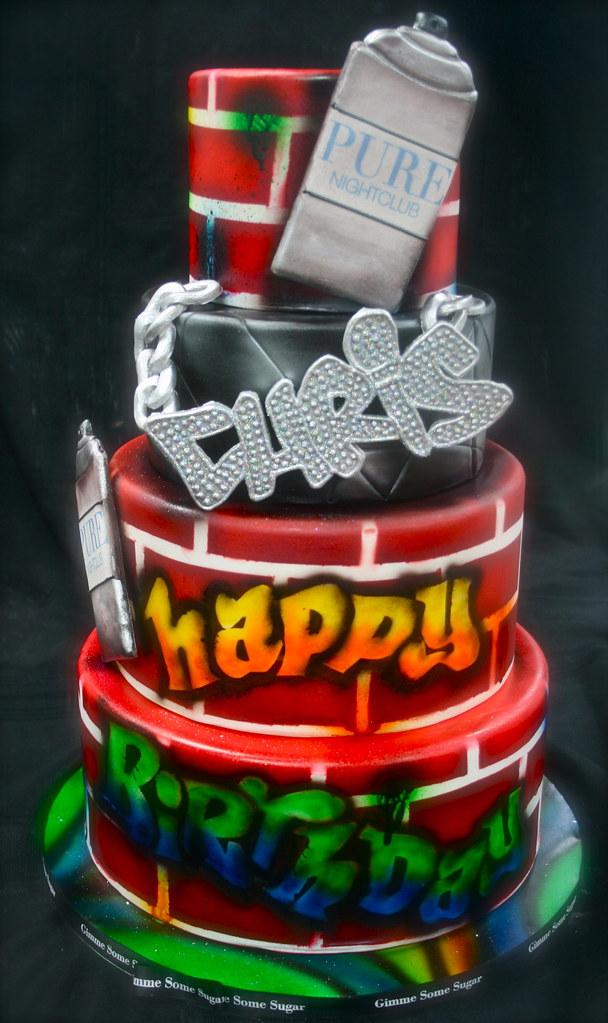 Strange Chris Brown Birthday Cake Gimme Some Sugar Vegas Flickr Personalised Birthday Cards Sponlily Jamesorg
