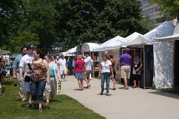 Krasl Art Fair on the Bluff, St. Joseph Michigan III