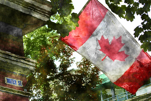 Water Street Flag | by Melody Ayres-Griffiths