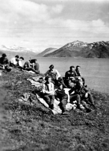 Bergjegerne (Sorkobataljonen) har ankommet Sørfold