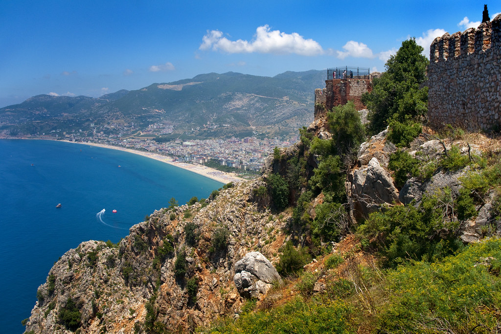 Turkey - Alanya - Castle viewpoint | For this shot I've trie… | Flickr