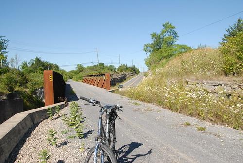 ontario canada cycling hiking trails tct cataraqui transcanadatrail multiuse railtrails frontenaccounty cataraquitrail