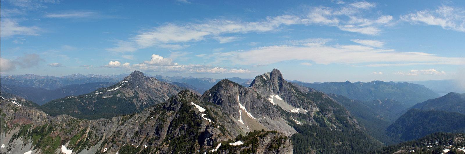 Eastern panoramic view