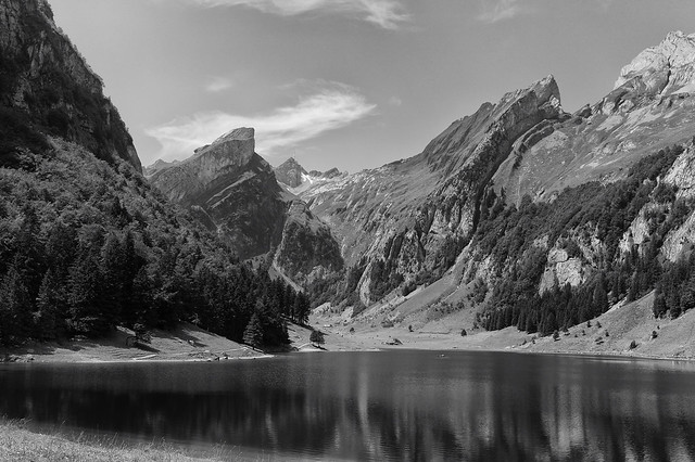 silent period @ seealpsee appenzell switzerland