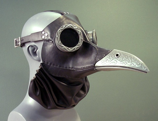 Ichabod Steampunk Mask in Black
