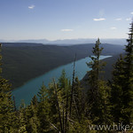 Bowman Lake from Lookout