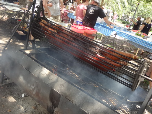 Whole grilled pig from Cochon at Pig & Punch | by Emily Cavalier