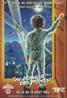 Affiche Festival Au Bonheur des Mômes-1994 | by Le Grand-Bornand