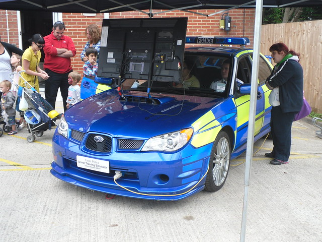 Essex Police / Subaru Impreza GB270 / Driver Training Simulator / QT87 / EY57 ESG