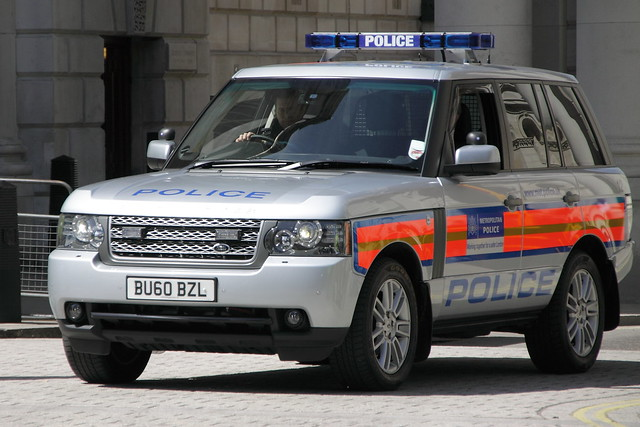 BU60BZL Range Rover of the Special Escort Group