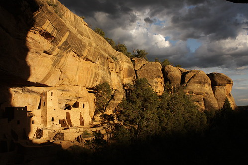 sunset ancient ruins pueblo co indians nativeamericans fourcorners cliffdwellings mesaverdenationalpark cliffpalace cortezcolorado