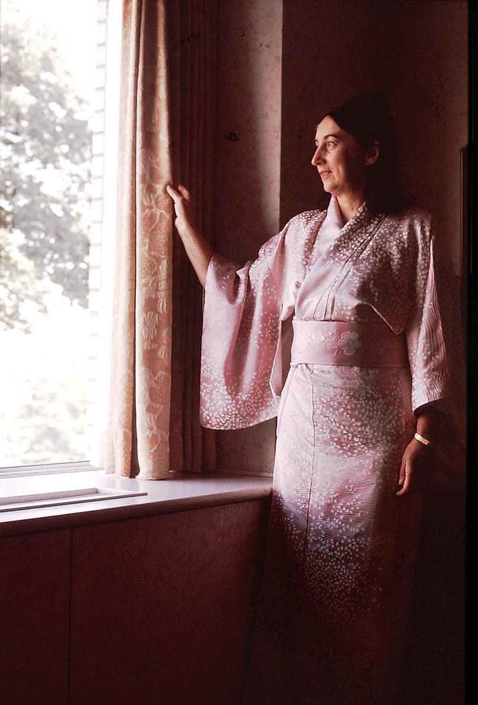 Margaret in the Hotel Miyako - Kyoto