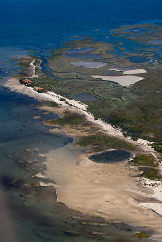 Vue aérienne Bassin Arcachon