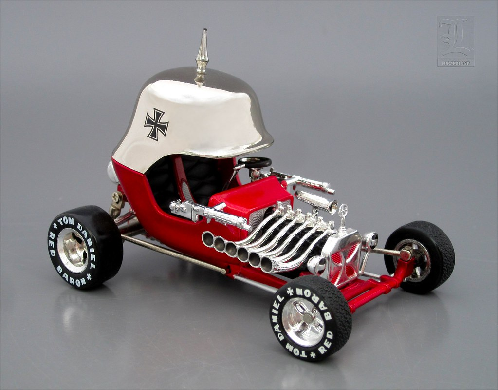 Tom Daniel's RED BARON diecast 1:43 scale | Part of a Tom Da… | Flickr