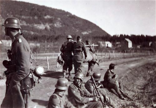 Etter kampene ved Pothus, Rognan