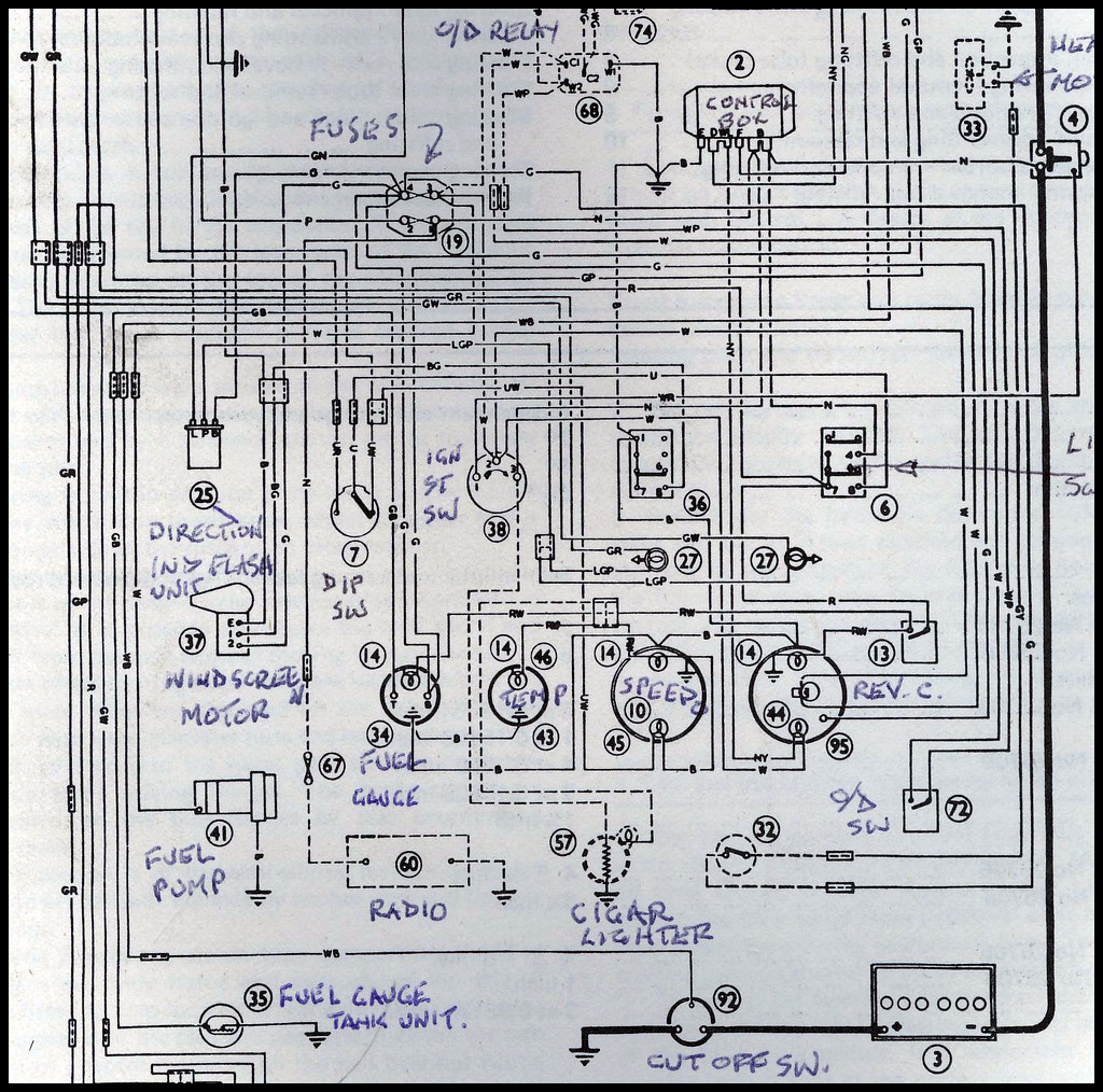 austin healey wiring diagram wiring diagram table Kitchen Electrical Wiring Diagram