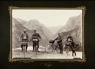 2381. Sogn, Nærødalen, Velocipeder | by National Library of Norway