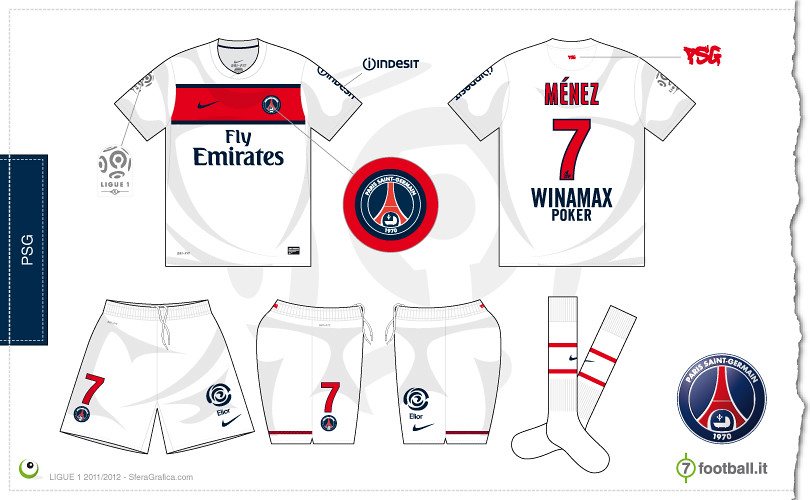 promo code e529e 9c9aa PSG away kit 2011/2012 | Sergio Scala | Flickr