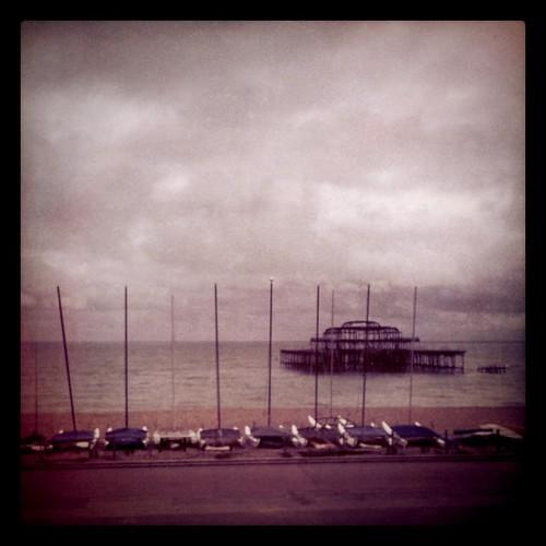 Burnt down pier, Brighton BN1 | by lucabelletti