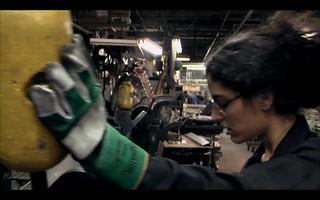 Factory Scene - Simone Weil as portrayed by Soraya Broukhim | by Simone Weil Movie
