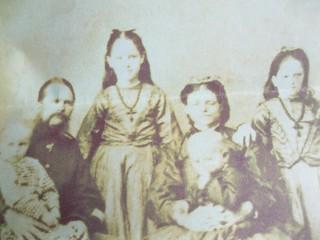 Thomas and Catherine Yarrow and family   by familytreeuk